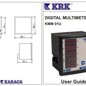 مولتی متر مجموع KRK مدل KMM 01u