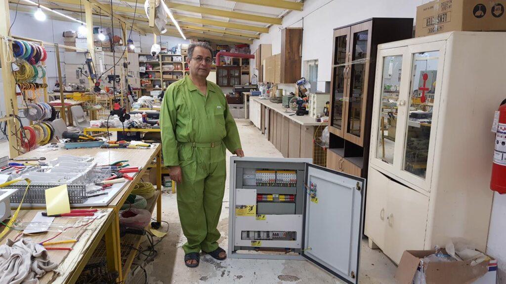 پروژه تابلو برق میدان تره بار بندرعباس -لودیریا