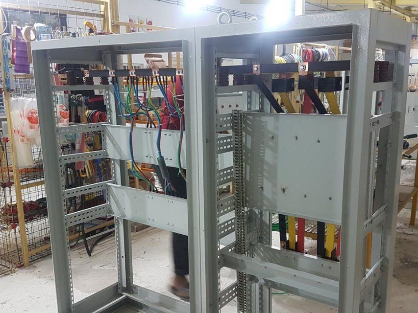 پروژه تابلو برق دکترصبوری -لودیریا